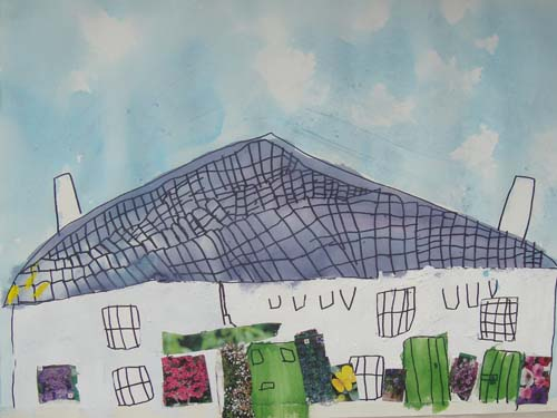 Millook Holiday Cottage by Hattie age 5.5