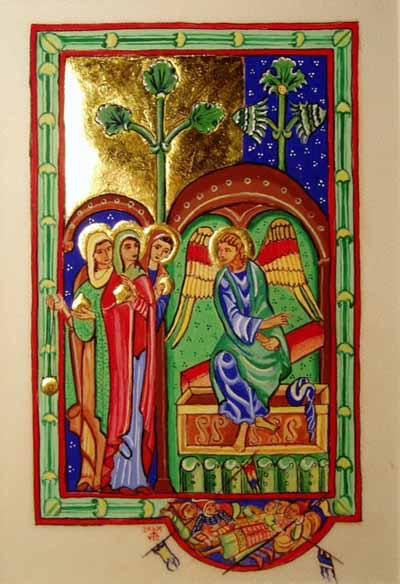 Three Maries at the Tomb