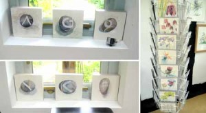 Pebble paintings and cards