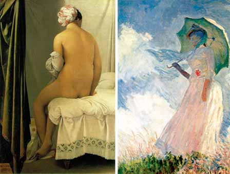 18-06-15 Monet and Ingres