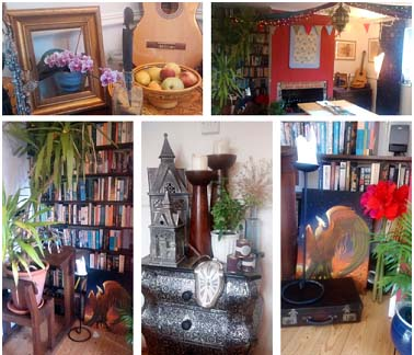 Some of the vignettes around the room