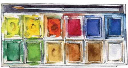 My Splendid paintbox