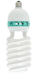 85Watt CFL, 90+ CRI rating, 5000K- 5500K , output 5000 lumens