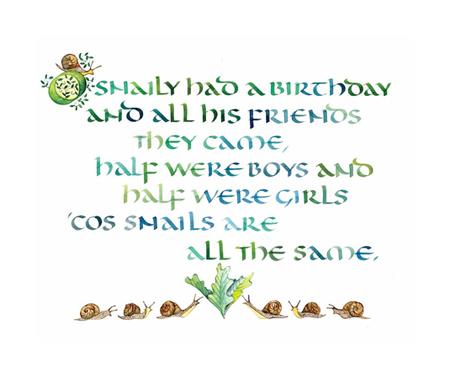 O'Snaily's Birthday by Gus Ferguson
