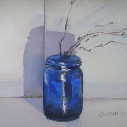 Blue jar 04-02