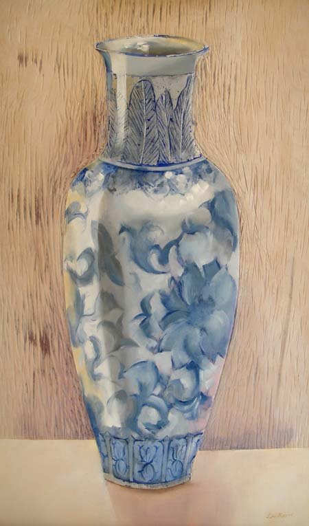 The Stillness of a Chinese Vase 750mm x 450mm