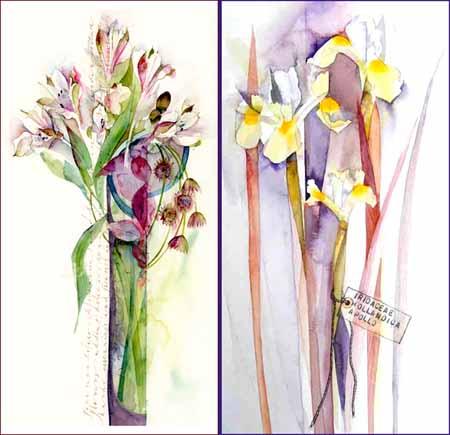 Alstromeria and iris-72