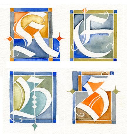 Decorative capitals