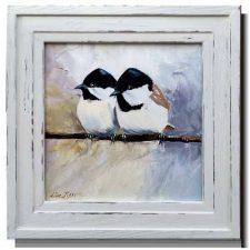 Customised frames for oil paintings
