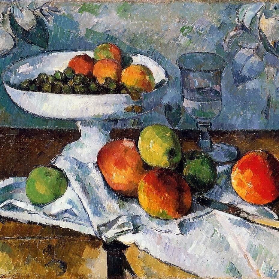 This image has an empty alt attribute; its file name is Still-life-Cezanne.jpg